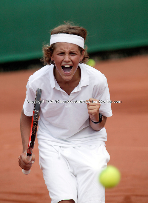 12-8-06,Den Haag, Tennis Nationale Jeugdkampioenschappen, Moos Sporken winnaar 12 jaar