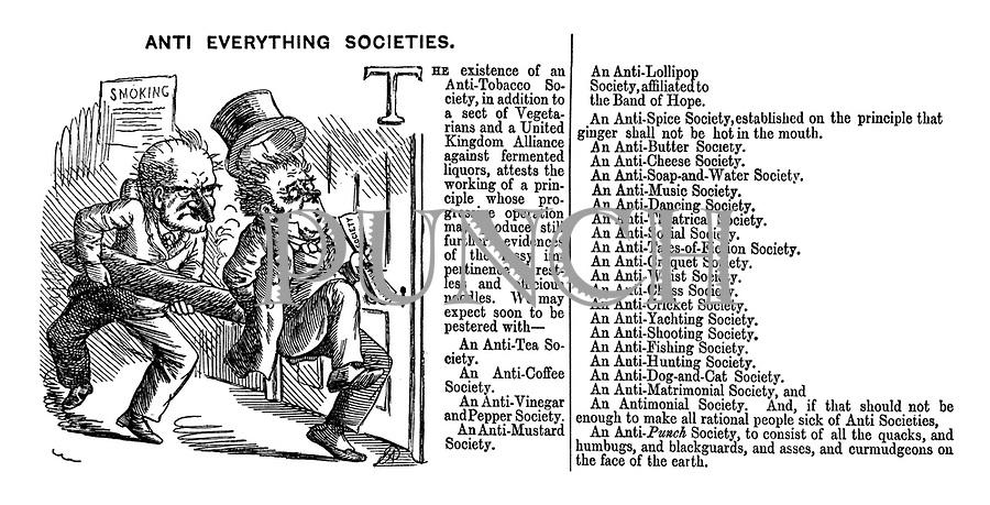 Anti Everything Societies