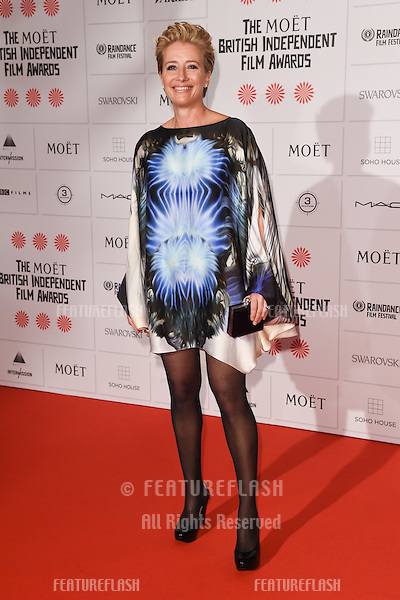 Emma Thompson arriving for the British Independent Film Awards 2014 at Old Billingsgate, London. 07/12/2014 Picture by: Steve Vas / Featureflash