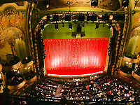 New Amsterdam Theatre - 11.04.2018: Sightseeing in New York