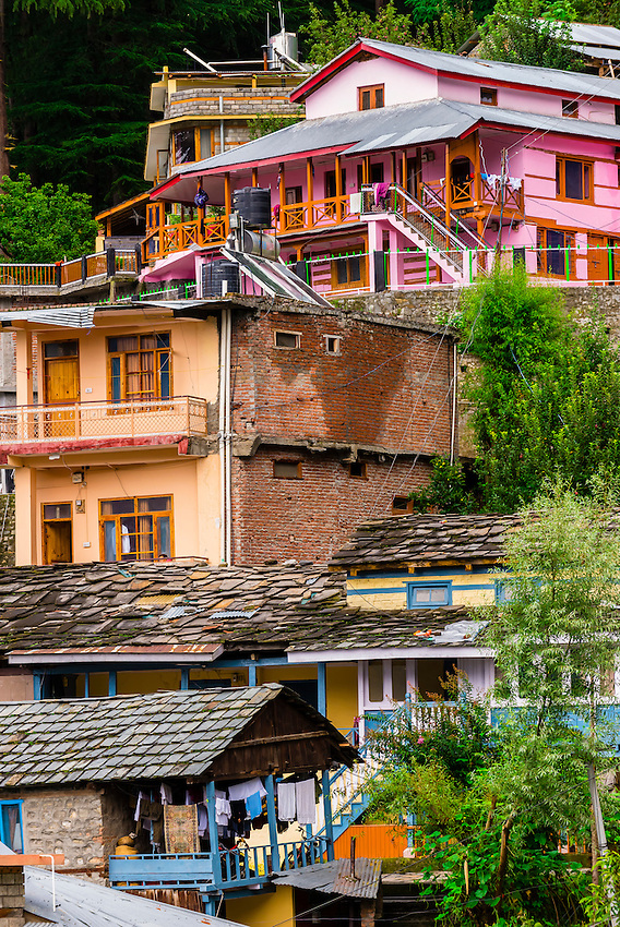 Naggar, near Manali, Himachal Pradesh, India.