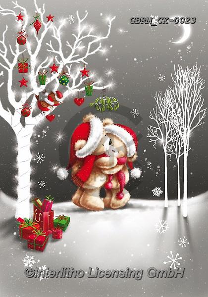 Roger, CHRISTMAS ANIMALS, WEIHNACHTEN TIERE, NAVIDAD ANIMALES, paintings+++++,GBRMCX-0023,#xa#