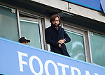 Andrea Pirlo watches on during the Premier League match at Stamford Bridge Stadium, London. Picture date December 11th, 2016 Pic David Klein/Sportimage