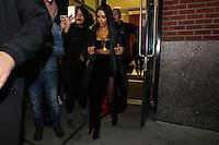 NEW YORK, NY, 14.02.2017. - KIM-KARDASHIAN - Kim Kardashian é vista deixando a casa de Kanye West em Manhattan na cidade de New York nesta terça-feira, 14. (Foto: Vanessa Carvalho/Brazil Photo Press)