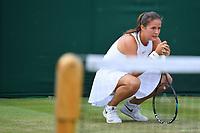 Daria Kasatkina (Rus)<br /> Wimbledon 05-07-2018 Roland Garros <br /> Tennis Grande Slam 2018 <br /> Foto Panoramic / Insidefoto <br /> ITALY ONLY