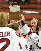 Anna McDonald (Harvard - 10). - The Harvard University Crimson defeated the Northeastern University Huskies 1-0 to win the 2010 Beanpot on Tuesday, February 9, 2010, at the Bright Hockey Center in Cambridge, Massachusetts.