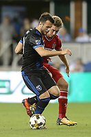 "San Jose, CA - Wednesday September 27, 2017: Valeri Qazaishvili ""Vako"" during a Major League Soccer (MLS) match between the San Jose Earthquakes and the Chicago Fire at Avaya Stadium."