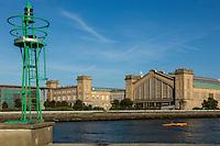 France, Manche (50), Cotentin, Cherbourg, musée Cité de la Mer, site historique de la gare transatlantique // France, Manche, Cotentin, Cherbourg, museum Cite de la Mer (city of the sea), historic site where the transatlantic liners departed