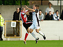 21/10/2006       Copyright Pic: James Stewart.File Name :sct_jspa20_gretna_v_clyde.PAUL MCHALE GETS A SECOND YELLOW CARD FOR THIS CHALLENGE ON RYAN MCGUFFIE ...Payments to :.James Stewart Photo Agency 19 Carronlea Drive, Falkirk. FK2 8DN      Vat Reg No. 607 6932 25.Office     : +44 (0)1324 570906     .Mobile   : +44 (0)7721 416997.Fax         : +44 (0)1324 570906.E-mail  :  jim@jspa.co.uk.If you require further information then contact Jim Stewart on any of the numbers above.........