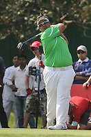 Kiradech Aphibarnrat (THA) on the 16th during Round 4 of the 2013 Avantha Masters, Jaypee Greens Golf Club, Greater Noida, Delhi, 17/3/13..(Photo Jenny Matthews/www.golffile.ie)