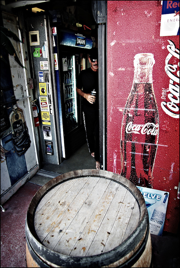 A man with coke<br /> From &quot;Color Blind&quot; series. Miami, 2009