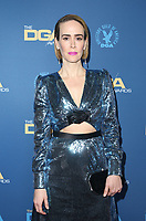 LOS ANGELES, CA - FEBRUARY 2: Sarah Paulson at the 71st Annual DGA Awards at the Hollywood & Highland Center's Ray Dolby Ballroom  in Los Angeles, California on February 2, 2019. <br /> CAP/MPIFS<br /> ©MPIFS/Capital Pictures