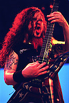 Pantera guitarist Darrell 'Dimebag' Abbott at Ozzfest Sunday Aug. 20,2000 at the Houston Raceway Park.