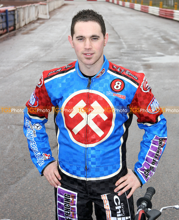 Chris Mills of Lakeside - Lakeside Hammers Press & Practice Day at Arena Essex Raceway - 11/03/08 - MANDATORY CREDIT: Gavin Ellis/TGSPHOTO. Self-Billing applies where appropriate. NO UNPAID USE. Tel: 0845 094 6026