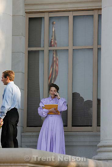 San Angelo - a 14-day hearing at the 51st District (Tom Green County) Courthouse to decide the fate of 416 children removed in a raid from the FLDS Church's YFZ Ranch. Friday April 18, 2008. Marie