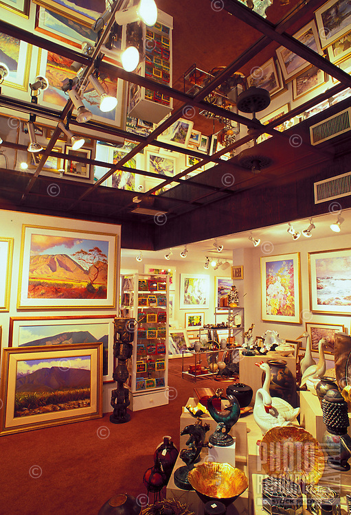 One of the many art venues that one will find during a casual walk along Lahaina's historic Front Street. Once the capital of Hawaii and the whaling capital of the world, today Front Street is a global magnet for art and art lovers.