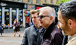Record Producer Tony Visconti (Mark Bolan, Thin Lizzy, Morrisey, David Bowie) in Buchanan Street, Glasgow<br /> <br /> (c) Andrew Wilson | Edinburgh Elite media