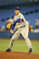 March 7, 2009:  Pitcher Mark DiFelice (15) of Italy during the first round of the World Baseball Classic at the Rogers Centre in Toronto, Ontario, Canada.  Venezuela defeated Italy 7-0 in both teams opening game of the tournament.  Photo by:  Mike Janes/Four Seam Images