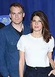 Michael C. Hall and Marissa Tomei attending 'The Realistic Joneses'  Meet & Greet  at The New 42nd Street Studios on February 20, 2014 in New York City.