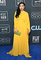 12 January 2020 - Santa Monica, California - Awkwafina. 25th Annual Critici's Choice Awards held at Barker Hangar. Photo Credit: Birdie Thompson/AdMedia