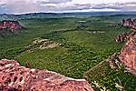 Mirante da Cidade de Pedra no Parque Nacional da Chapada dos Guimarães. Mato Grosso. 2011. Foto de Sergio Amaral.