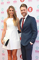 Brian McFadden and Vogue Williams arriving at the Tesco Mum Of The Year Awards 2014, at The Savoy, London. 23/02/2014 Picture by: Alexandra Glen / Featureflash