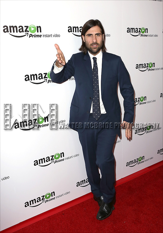 Jason Schwartzman attending the Amazon Red Carpet Premiere for 'Mozart in the Jungle' at Alice Tully Hall on December 2, 2014 in New York City.