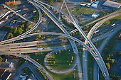 I-40 and I-75 Highway interchange in Knoxville