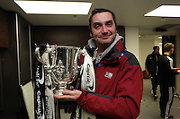 Pictured: Dimitrios Legakis. Sunday 24 February 2013<br /> Re: Capital One Cup football final, Swansea v Bradford at the Wembley Stadium in London.