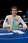 Winner Jason Mercier