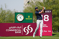 Johannes Veerman (USA) on the 18th during Round 1 of the Commercial Bank Qatar Masters 2020 at the Education City Golf Club, Doha, Qatar . 05/03/2020<br /> Picture: Golffile | Thos Caffrey<br /> <br /> <br /> All photo usage must carry mandatory copyright credit (© Golffile | Thos Caffrey)