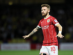 Bristol City's Matty Taylor in action during the Carabao cup match at Vicarage Road Stadium, Watford. Picture date 22nd August 2017. Picture credit should read: David Klein/Sportimage