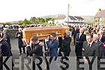 Funeral of Paudi O'Se at Ventry Church on Tuesday.