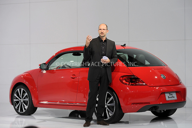 WWW.ACEPIXS.COM . . . . . .April 18, 2011...New York City...Klaus Bischoff, head of design of Volkswagon Brand, attends the U.S. reveal of the 21st Century Volkswagen Beetle at Warehouse at Pier 36 on April 18, 2011 in New York City....Please byline: KRISTIN CALLAHAN - ACEPIXS.COM.. . . . . . ..Ace Pictures, Inc: ..tel: (212) 243 8787 or (646) 769 0430..e-mail: info@acepixs.com..web: http://www.acepixs.com .