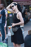 NEW YORK, NY - JULY 9: Krysten Ritter  seen on set of 'Jessica Jones'  on July 9, 2018 in New York City. <br /> CAP/MPI/DC<br /> &copy;DC/MPI/Capital Pictures