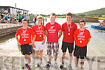 Sneem U16 boys take poll position at the Cahersiveen Regatta on Sunday pictured l-r; David Murphy, Tadhg O'Sullivan, Shane Christian(Cox), Jonathan Kool & Dior Burke.