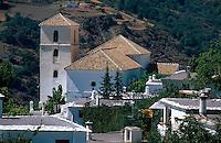 Spanien, Andalusien, Das Dorf Bubion in den Alpujarras (Alpujarra granadina)
