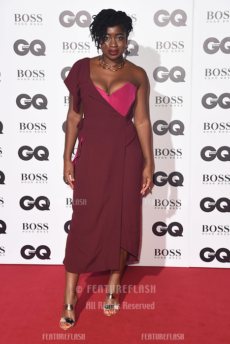 LONDON, UK. September 05, 2018: Clara Amfo at the GQ Men of the Year Awards 2018 at the Tate Modern, London