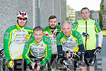 Kieran greensmith, John O'Donoghue, Craig Hewerdine, Paul courtney and Donagh Regan Killorglin CC who cycled  at the 3 Climbs cycle in Killarney on Saturday