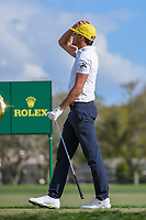 Rafael Cabrera Bello (ESP) reacts to his tee shot on 14 during round 3 of the Arnold Palmer Invitational at Bay Hill Golf Club, Bay Hill, Florida. 3/9/2019.<br /> Picture: Golffile | Ken Murray<br /> <br /> <br /> All photo usage must carry mandatory copyright credit (© Golffile | Ken Murray)