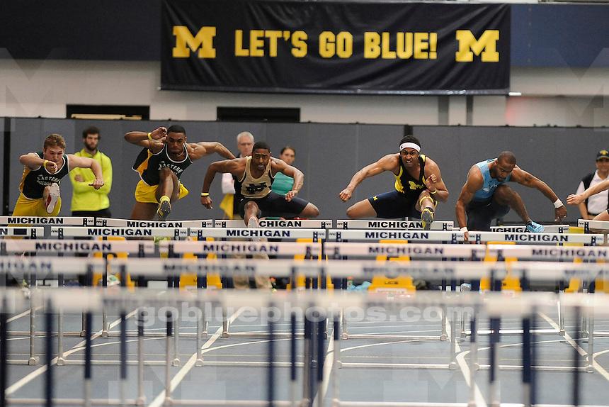 University of Michigan Women's Track, Simmons-Harvey Invitational at UM Indoor Track Building, Saturday, January 18, 2014.