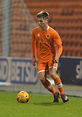 04/12/2018 FA Youth Cup 3rd Round Blackpool v Derby County<br /> <br /> Will McGladdery