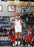 Texas - Arlington Mavericks forward Briana Walker (21) goes up for a lay up  in the game between the UTA Mavericks and the  Nicholls State University Colonels  held at the University of Texas in Arlington's Texas Hall in Arlington, Texas. UTA defeats Nicholls 69 to 62