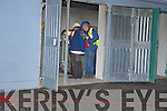 ESB personnel pictured at the ESB sub station on Glebe Lane in Killarney after a small explosion at the plant on Thursday evening.....   Copyright Kerry's Eye 2008