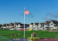 War memorial in Ocean Park, Oak Bluffs, Martha's Vineyard, Massachusetts, USA