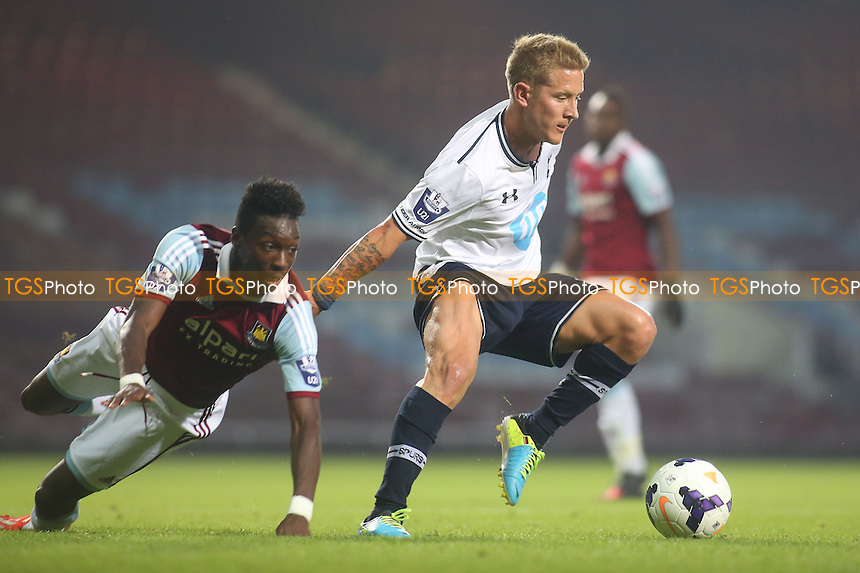 Lewis Holtby of Tottenham who scored their second goal - West Ham United Under-21 vs Tottenham Hotspur Under-21 - Barclays Under-21 Premier League Football at The Boleyn Ground, Upton Park, London - 23/08/13 - MANDATORY CREDIT: Paul Dennis/TGSPHOTO - Self billing applies where appropriate - 0845 094 6026 - contact@tgsphoto.co.uk - NO UNPAID USE