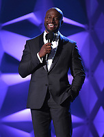 SANTA MONICA, CA - JANUARY 12: Taye Diggs onstage at the 25th Annual Critics' Choice Awards at the Barker Hangar on January 12, 2020 in Santa Monica, California. (Photo by Frank Micelotta/PictureGroup)