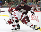 Alexander Kerfoot (Harvard - 14), Adam Dauda (Colgate - 12) -  - The Harvard University Crimson defeated the visiting Colgate University Raiders 7-4 (EN) on Saturday, February 20, 2016, at Bright-Landry Hockey Center in Boston, Massachusetts.