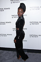 NEW YORK, NY - JANUARY 9: Lupita Nyong'o at The National Board of Review Annual Awards Gala at Cipriani 42nd Street on January 9, 2017 in New York City. <br /> CAP/MPI99<br /> &copy;MPI99/Capital Pictures