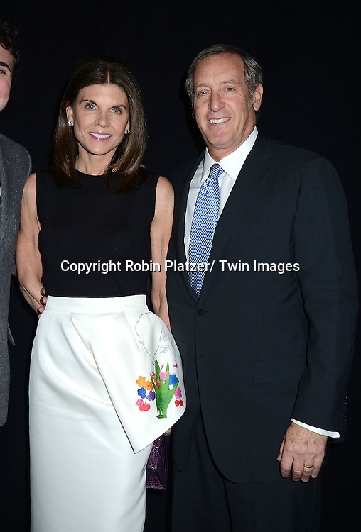 Nancy and Steven attends the 2013 Whitney Gala & Studio party honoring artist Ed Ruscha on October 23, 2013 at Skylight at Moynihan Station in New York City.